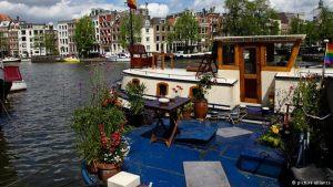 قایقهای مسکونی آمستردام